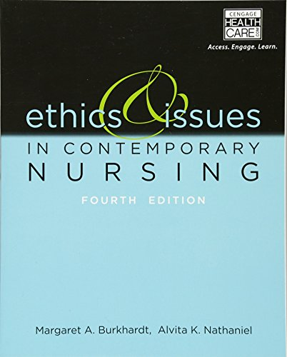 9781133129165: Ethics & Issues in Contemporary Nursing
