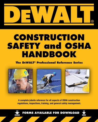 9781133132059: Dewalt Construction Safety and OSHA Handbook
