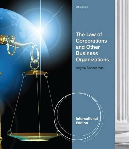 9781133134763: The Law of Corporations and Other Business Organizations