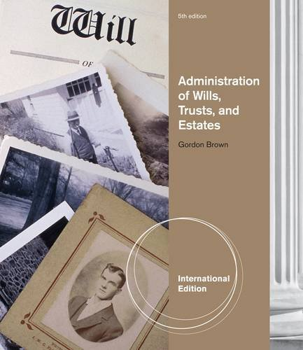 9781133134770: Administration of Wills, Trusts and Estates.