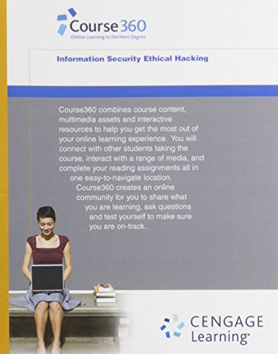 9781133134886: Course360 Information Security Ethical Hacking Printed Access Card