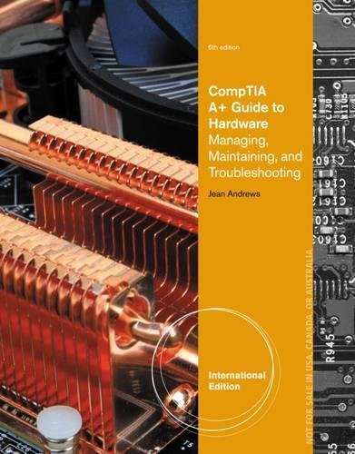 9781133135371: A+ Guide to Hardware, International Edition (with Printed Access Card)