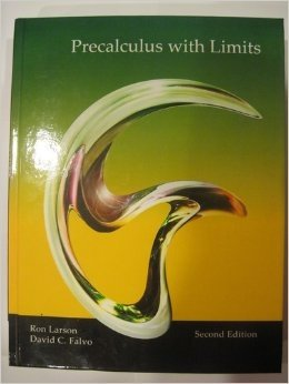 Precalculus with Limits Custom Edition for Collin College Second Edition: U