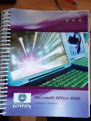 9781133153443: Microsoft Office 2010 (Microsoft Office 2010: Introductory)
