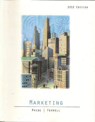9781133154006: MARKETING 2012 ED. >CUSTOM<