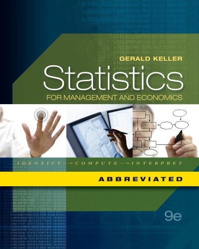 Bundle: Statistics for Management and Economics, Abbreviated Edition (with Printed Access Card), ...