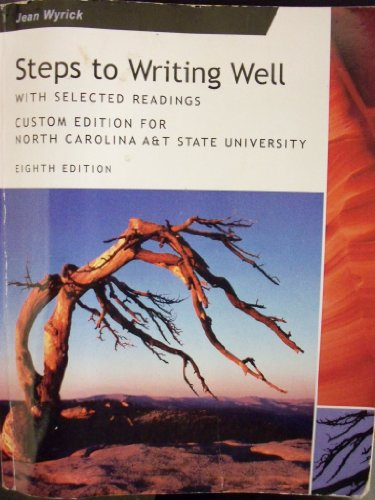 9781133167877: Steps to Writing Well; with Selected Readings (North Carolina A&T State University)