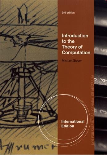 9781133187813: Introduction to the Theory of Computation