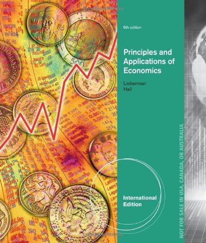 9781133188261: Principles and Applications of Economics