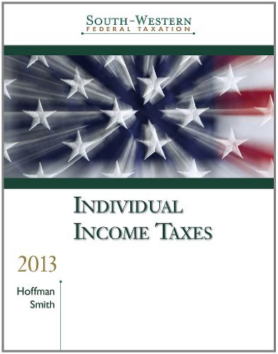 9781133189558: South-Western Federal Taxation 2013: Individual Income Taxes, Professional Edition (with H&R Block @ Home CD-ROM)