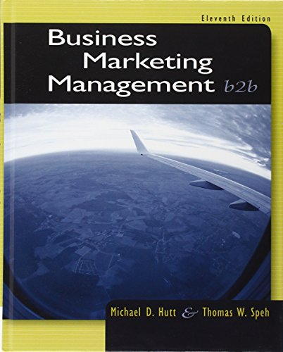9781133189565: Business Marketing Management: B2B
