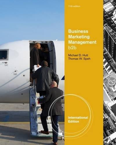 9781133189572: Business Marketing Management: B2B, International Edition