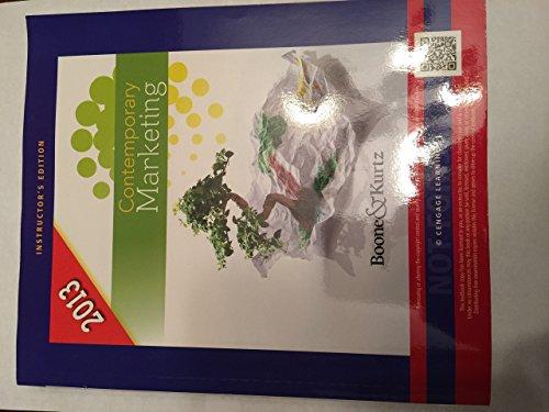 9781133190134: Contemporary Marketing 2013 Instructors Edition