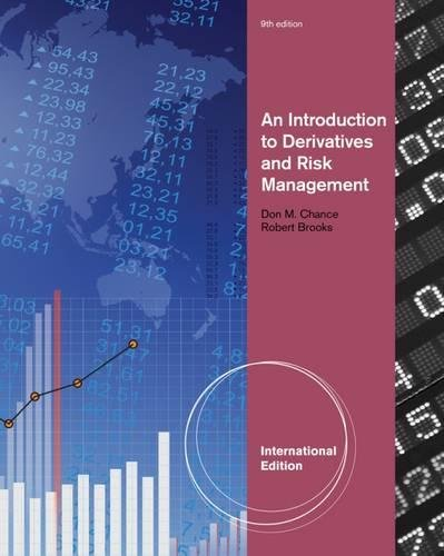 9781133190219: An Introduction to Derivatives and Risk Management