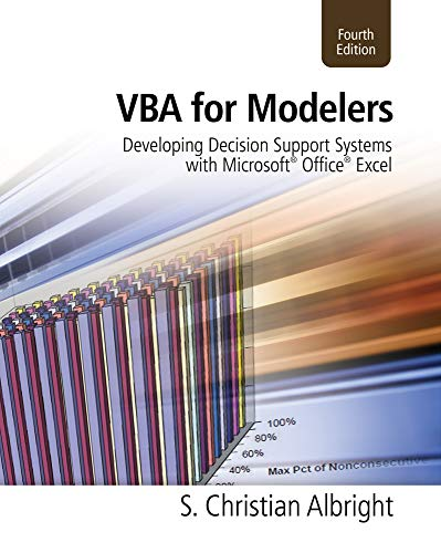 9781133190875: VBA for Modelers: Developing Decision Support Systems With Microsoft Office Excel