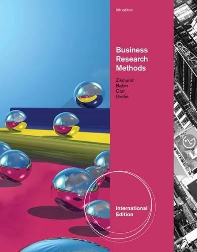 Business Research Methods: Zikmund, William, Babin,