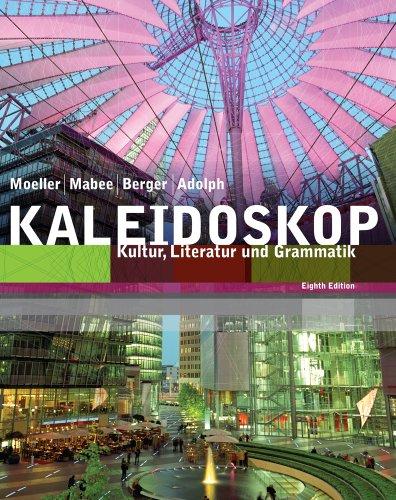 Bundle: Kaleidoskop, 8th + Student Activities Manual + SAM Audio CD-ROM (5): Moeller, Jack; Adolph,...