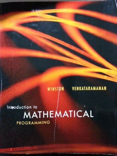 9781133228264: Introduction to Mathematical Programming Volume 1, 4th Edition w/CD (Introduction to Mathematical Programming Volume 1, 4th Edition)