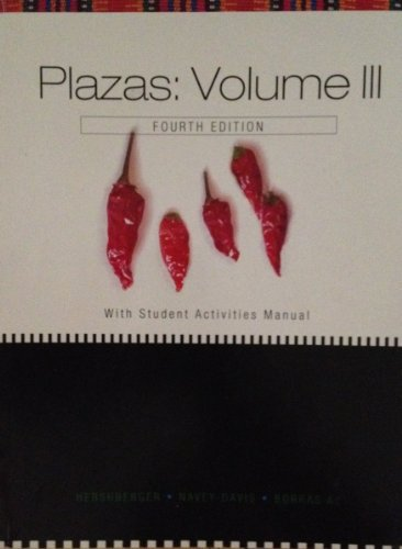 9781133228455: Plazas: Volume 3, Fourth Edition