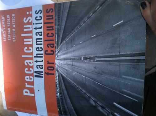 PRECALCULUS MATH.F/CALCULUS >C: James Stewart, Lothar