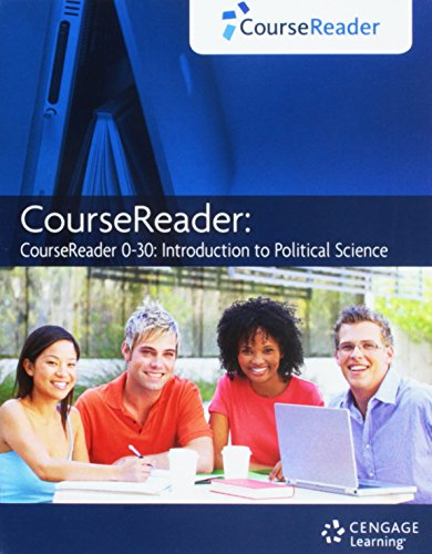 CourseReader Online Study Tool 0-30: Introduction to Political Science [Web Access]