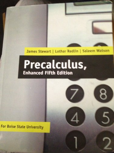 9781133233909: Precalculus, Enhanced Fifth Edition (For Boise State University)