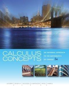 CALCULUS CONCEPTS >CUSTOM<: Latorre, Kenelly, Biggers,