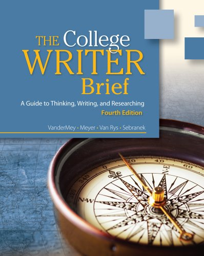 Bundle: The College Writer: A Guide to Thinking, Writing, and Researching, Brief, 4th + English ...