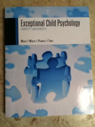 9781133271529: Exceptional Child Psychology