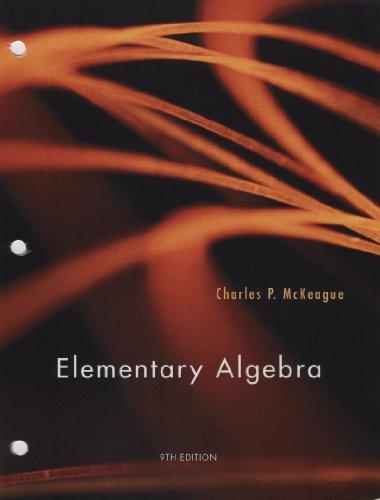 9781133272212: Elementary Algebra, 9th Edition