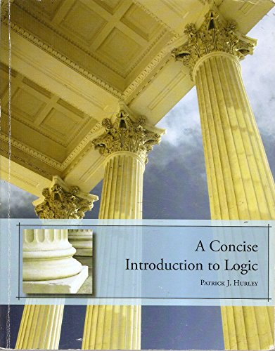 9781133272687: A Concise Introduction to Logic