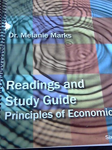 9781133272748: Readings and Study Guide Principles of Economics