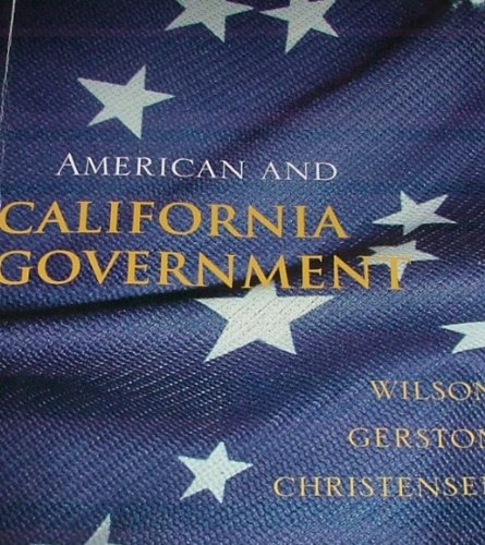 9781133272861: American and California Government