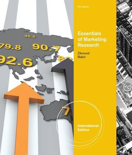 Essentials of Marketing Research, International Edition (with: Barry J. Babin
