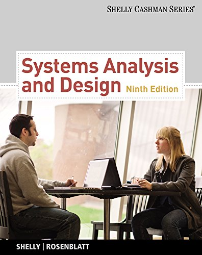 9781133274636: Systems Analysis and Design (Book Only) (Shelly Cashman)