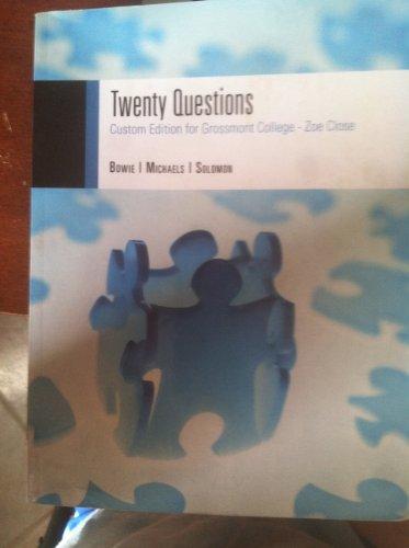 9781133275756: Twenty Questions (Custom Edition for Grossmont College - Zoe Close)