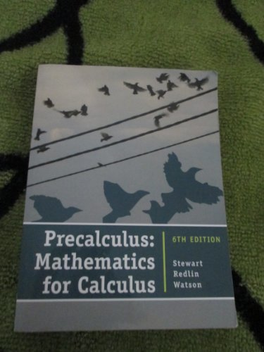 9781133276005: Precalculus Mathematics for Calculus
