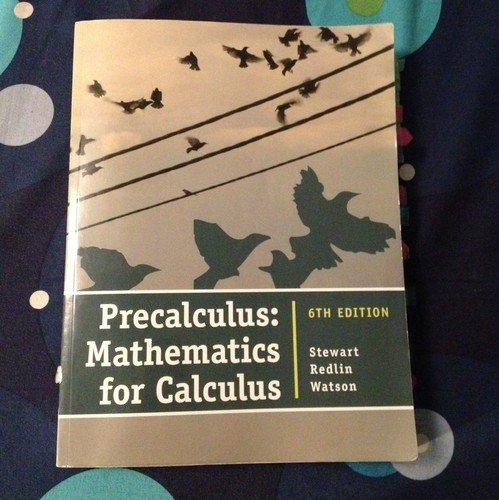 9781133276005: Precalculus Mathematics for Calculus