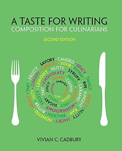 9781133277910: A Taste for Writing: Composition for Culinarians