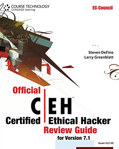 9781133282914: Official Certified Ethical Hacker Review Guide: For Version 7.1 (with Premium Website Printed Access Card and CertBlaster Test Prep Software Printed Access Card) (EC-Council Press)