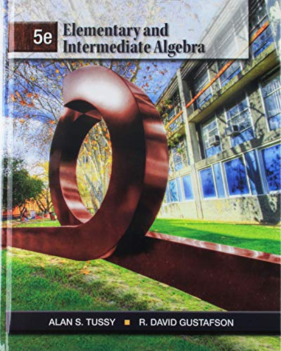 9781133289777: Bundle: Elementary and Intermediate Algebra, 5th + Student Workbook