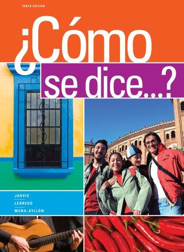 Bundle: Como se dice.?, 10th + iLrnTM Printed Access Card: Jarvis, Ana; Lebredo, Raquel; ...