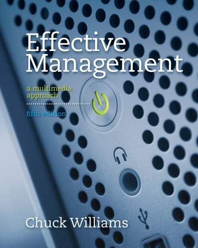 Bundle: Effective Management, 5th + Management CourseMate with eBook Printed Access Card: Williams,...