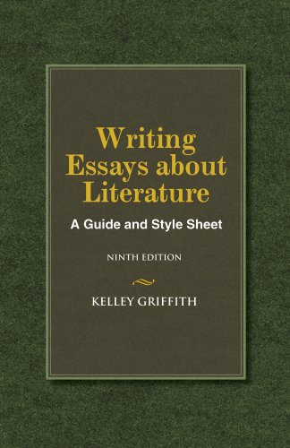 Writing Essays About Literature (1133307299) by Kelley Griffith