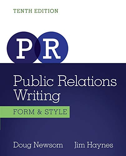 public relations writing Study the essentials of public relations and get a start on a new career  learn  how to write press releases and email pitches and how to package and sell them .