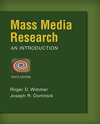 9781133307334: Mass Media Research: An Introduction