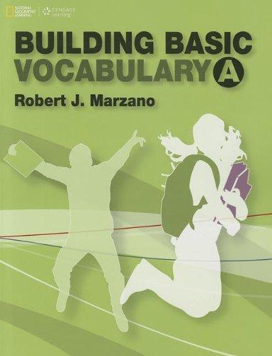 9781133308492: Building Basic Vocabulary A