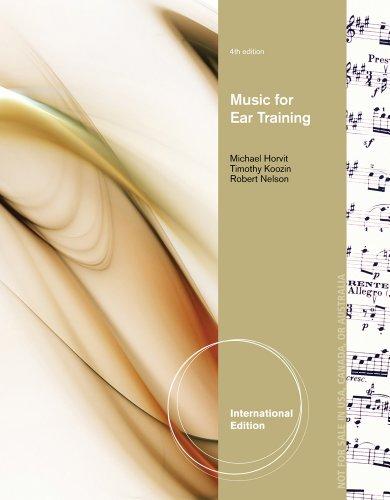 9781133308683: Music for Ear Training.
