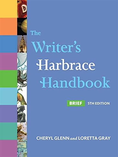 The Writer's Harbrace Handbook, Brief 5th Edition: Glenn, Cheryl; Gray, Loretta