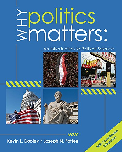 9781133309451: Why Politics Matters: An Introduction to Political Science (book only)